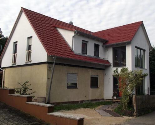 Aufstockung auf ein bestehendes Einfamilienhaus in Obernzenn