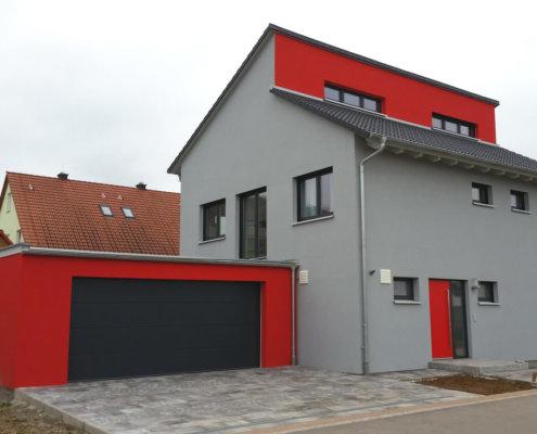 Doppelgarage modern pultdach  Die Hausprojekte Galerie von Engelhardt und Geissbauer