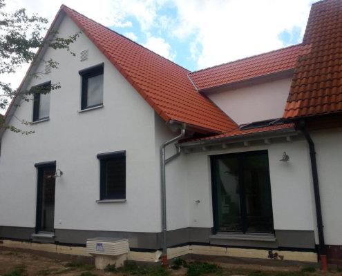 Zweifamilienhaus als Anbau an ein bestehendes Wohnhaus in Mitteleschenbach