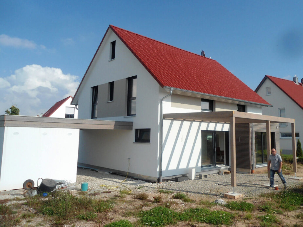 Bemerkenswert Einfamilienhaus Satteldach Ideen Von Bauen РPerșnlich Und Individuell