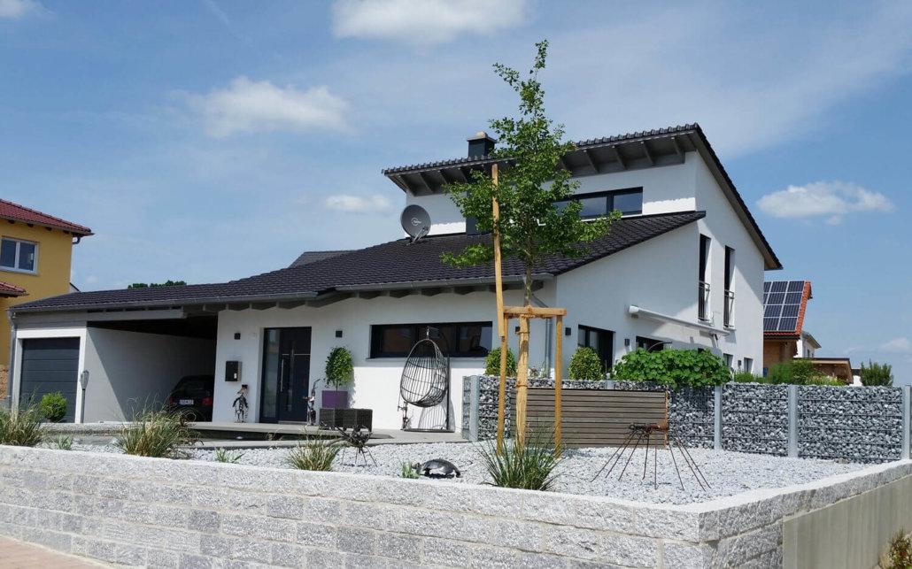 Einfamilienhaus bauen eg for Holzhaus modern bauen