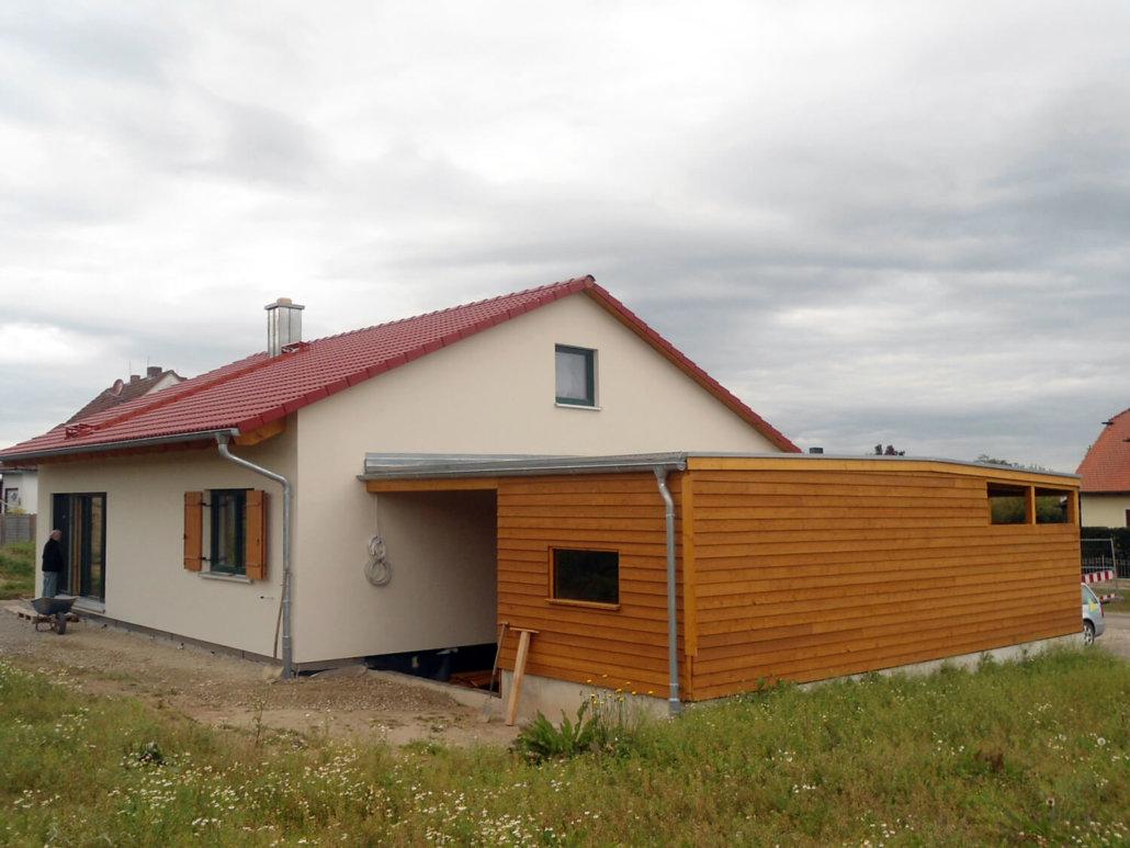 Holzhaus Bungalow Eingeschossig Neustadt (2)