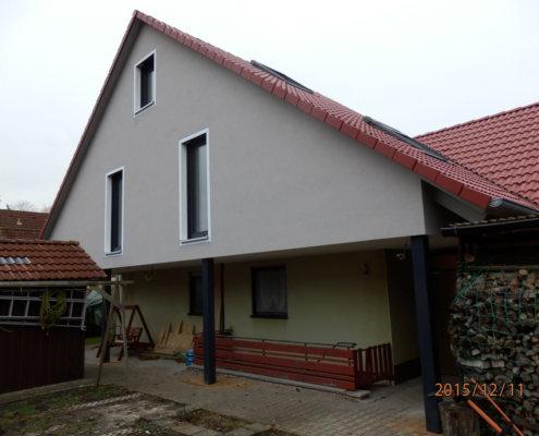Umbau/Erweiterung und Dachsanierung eines Wohnhauses in Bad Windsheim