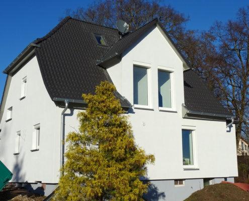Umbau und Dachsanierung eines Einfamilienhaus mit Anbau in Emskirchen