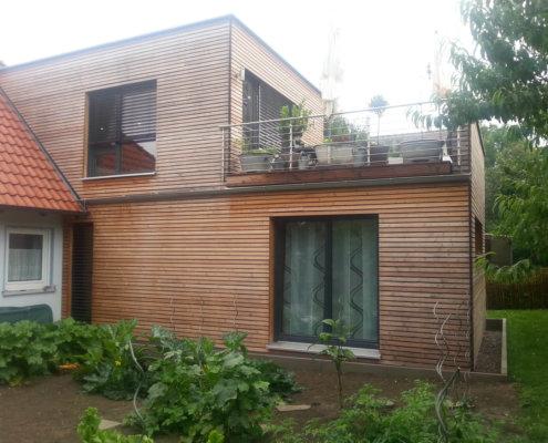 Anbau an einem bestehenden Wohnhaus in Steinsfeld