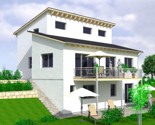 Einfamilienhaus mit Einliegerwohnung und Garage in Wilhelmsdorf