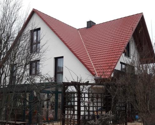 Aufstockung/Dacherweiterung eines bestehenden Wohnhaus in Spardorf