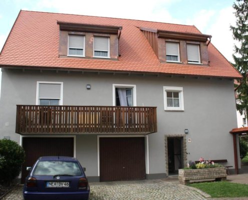 Aufstockung eines bestehenden Wohnhaus in Bad Windsheim