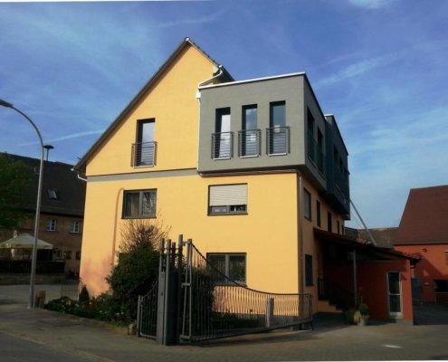 Aufstockung eines bestehenden Wohnhauses in Egersdorf