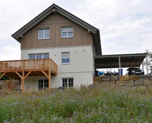 Einfamilienhaus mit Carport in Ochsenfurt