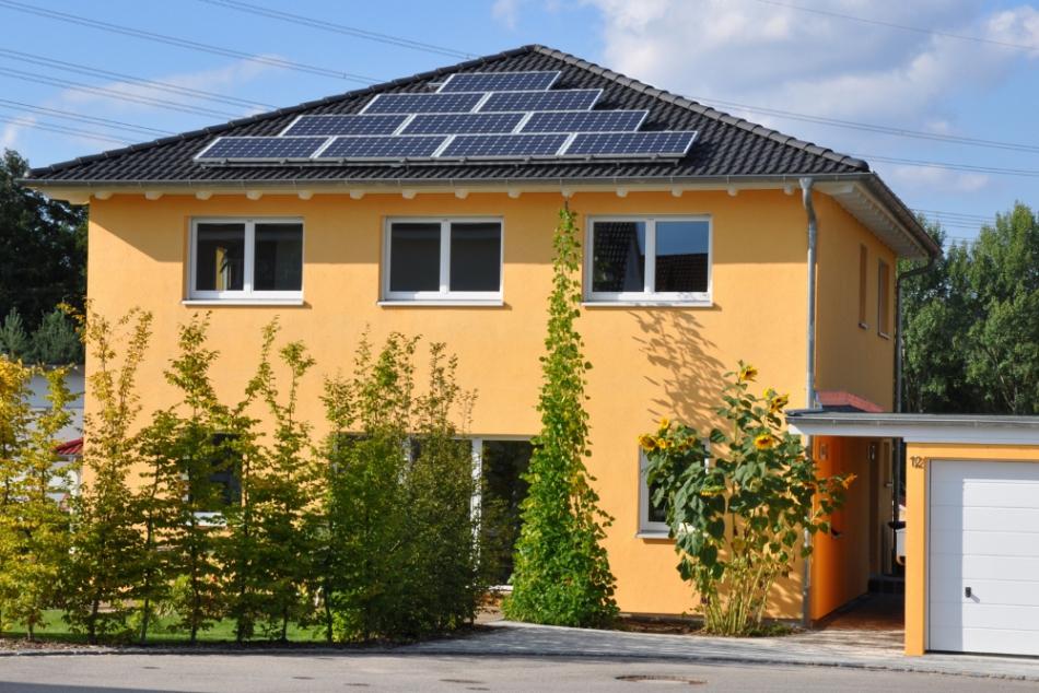 ökologische Häuser ökologisch bauen efficiento holzhaus natürlich und gesund