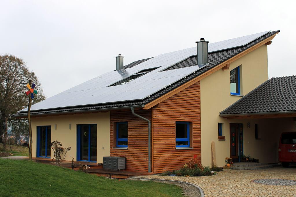 Beliebt Fertighaus - EG-Holzhaus.de GH03