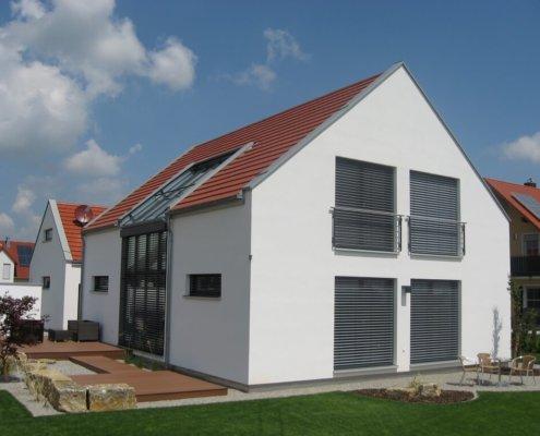 Architektur eg for Architektur einfamilienhaus satteldach
