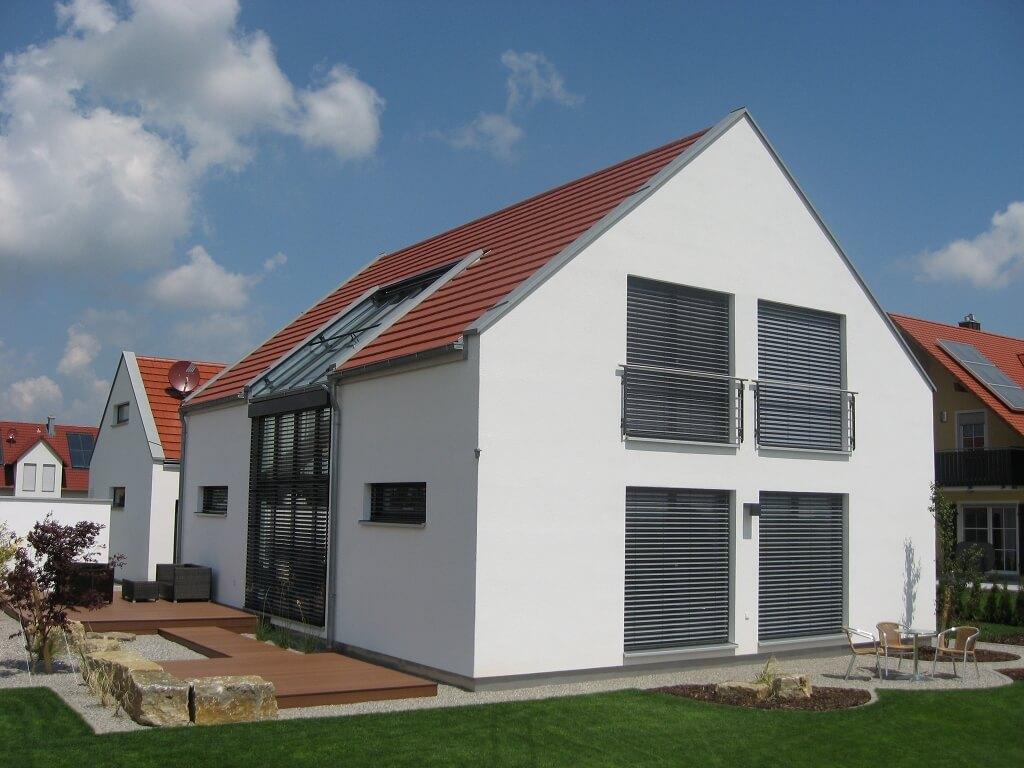 Efficiento h user eg for Haus rustikal modern