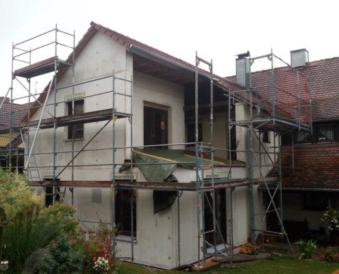 Zweigeschossiger Anbau an bestehendes Wohnhaus in Trautskirchen