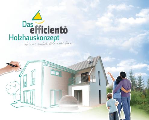 efficiento Holzhaus Konzept