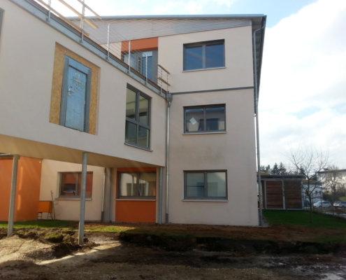 Aufstockung auf ein von E+G errichtetes Bürogebäude aus 2008 in Schwabach