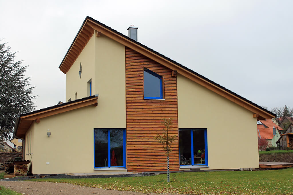 Relativ Fertighaus - EG-Holzhaus.de QW16