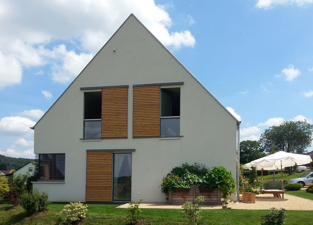 Efficiento h user eg for Einfamilienhaus modern