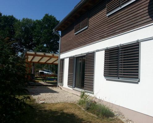 Anbau an ein bestehendes Einfamilienhaus in Falkendorf