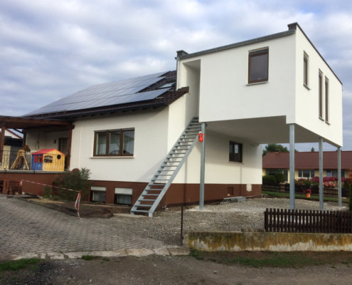 Anbau an ein bestehendes Einfamilienhaus in Markt Bibart