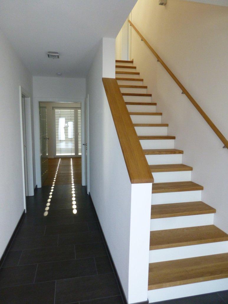 Treppe zeichnung  Treppen - EG-Holzhaus.de