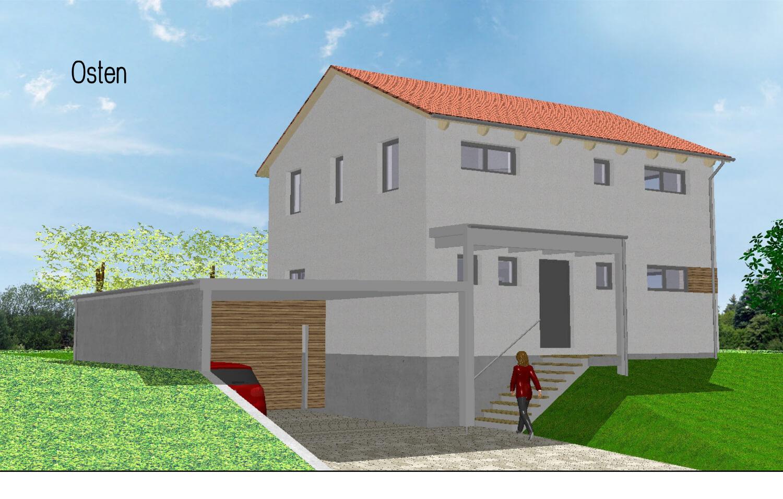 einfamilienhaus mit carport in burgebrach eg. Black Bedroom Furniture Sets. Home Design Ideas