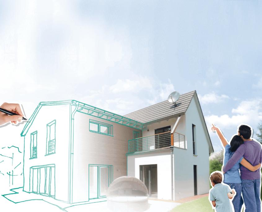 Haus bauen excellent gnstiges haus selber bauen with haus for Haus modell bauen