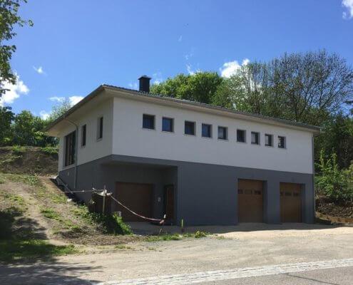 Einfamilienhaus mit Keller und Garage in Ergersheim