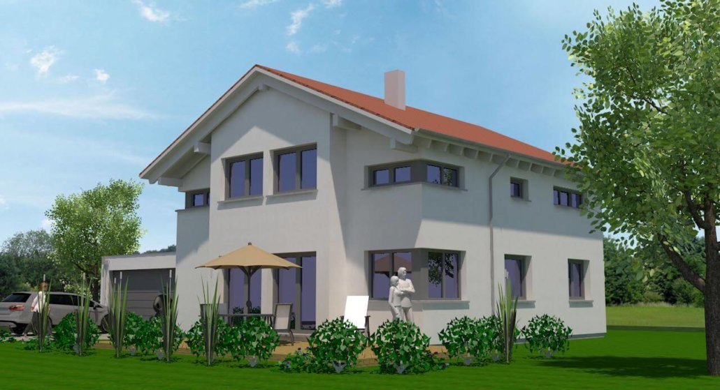 einfamilienhaus mit garage in burgbernheim eg. Black Bedroom Furniture Sets. Home Design Ideas