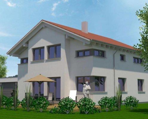 Einfamilienhaus mit Garage in Burgbernheim