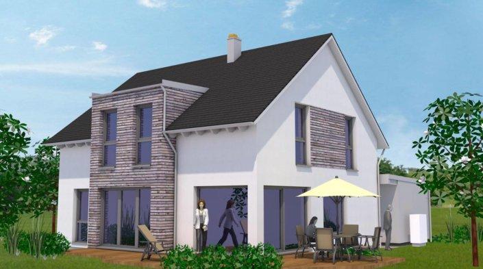 holzhaus efficiento holzhaus nat rlich und gesund. Black Bedroom Furniture Sets. Home Design Ideas