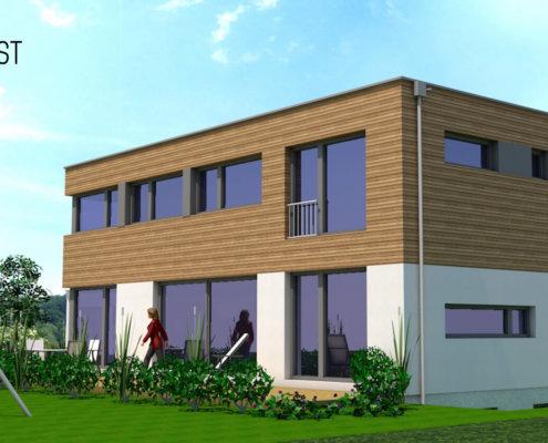 Einfamilienhaus mit Keller und Doppelgarage in Kleinsendelbach