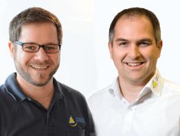 Beratung mit Martin Tetmeyer und Stefan Bauereiß