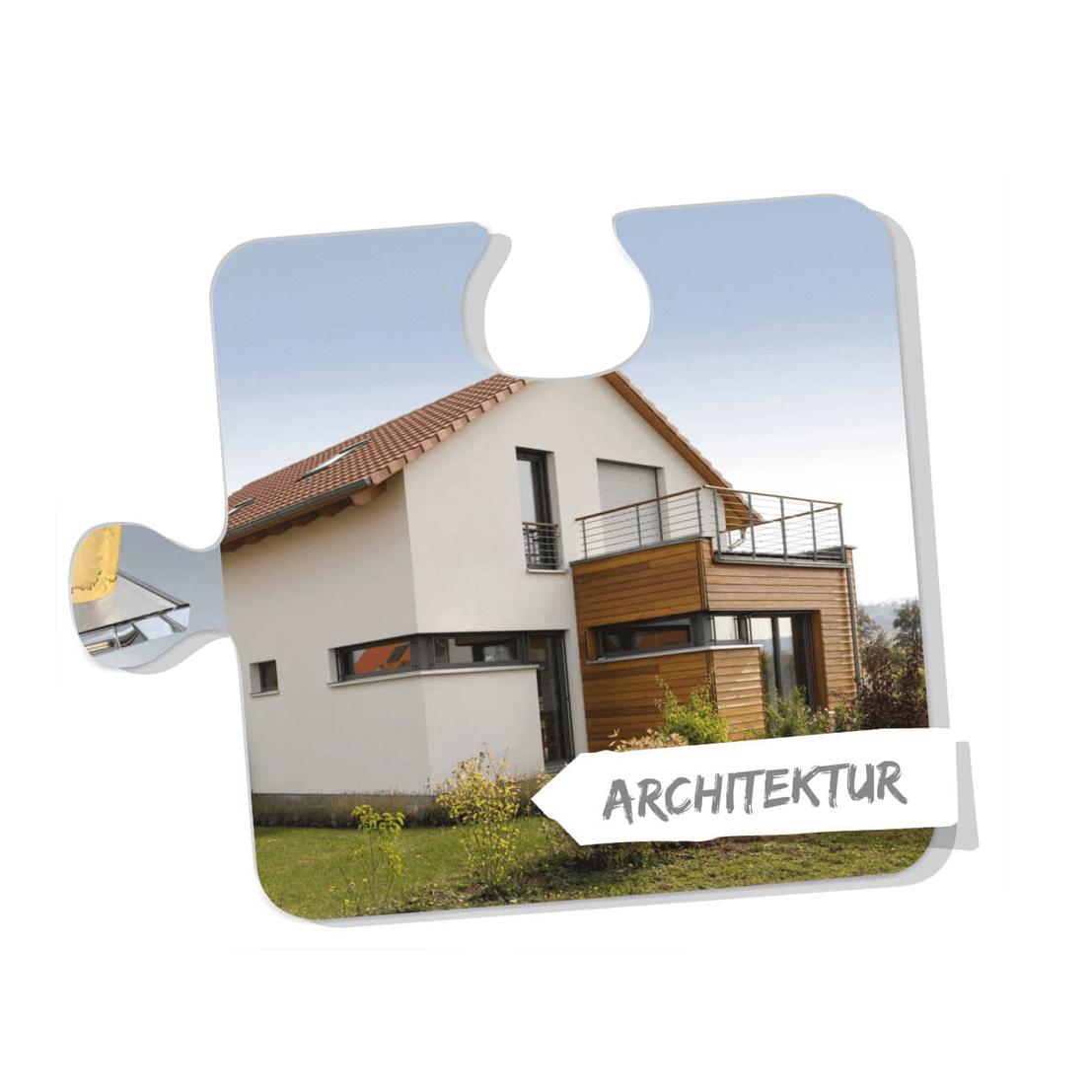 Architektur Puzzleteil