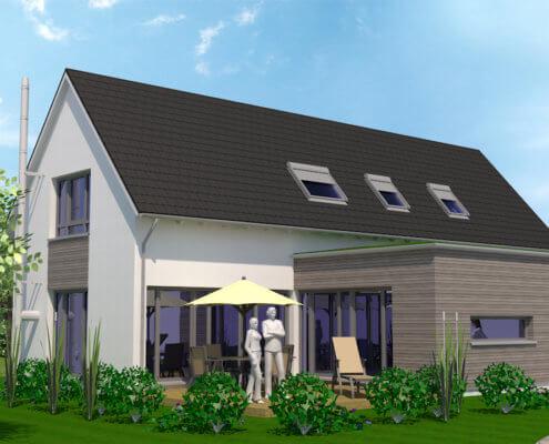 Einfamilienhaus mit Einliegerwohnung in Hagenbüchach