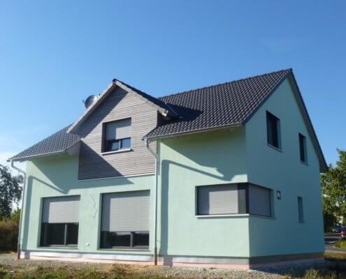 Einfamilienhaus mit Garage in Simmershofen