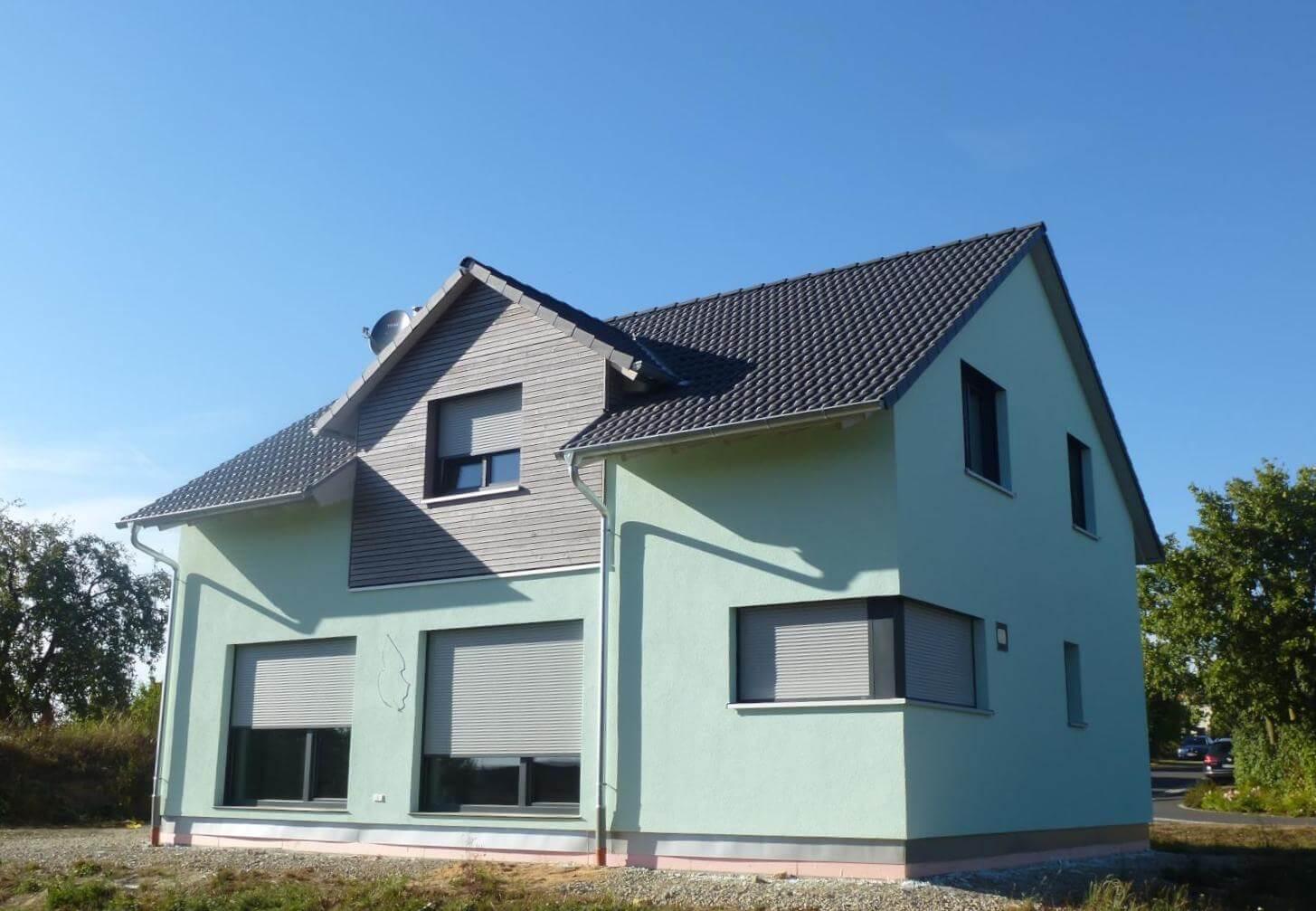 einfamilienhaus mit garage in simmershofen eg. Black Bedroom Furniture Sets. Home Design Ideas