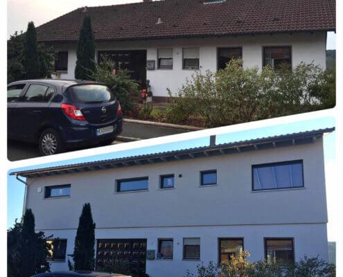 Aufstockung zum Zweifamilienhaus in Trautskirchen