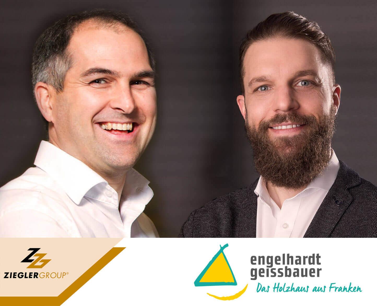 Übernahme in die Ziegler Group. Neue Geschäftsführer Stefan Bauereiß und Stefan Ziegler.
