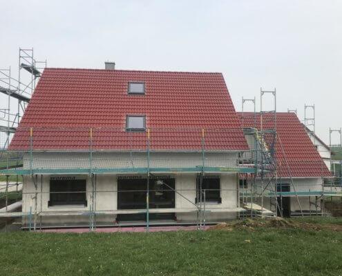 Einfamilienhaus mit Garage in Leuzenbronn