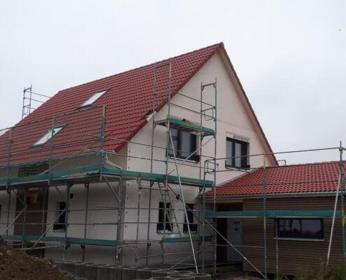 Einfamilienhaus mit Carport in Gaurettersheim