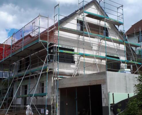 Einfamilienhaus mit Keller und Doppelgarage in Sailauf