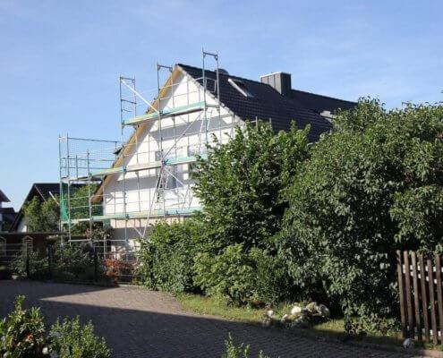 Umbau und Dachsanierung eines Einfamilienhauses in Ipsheim