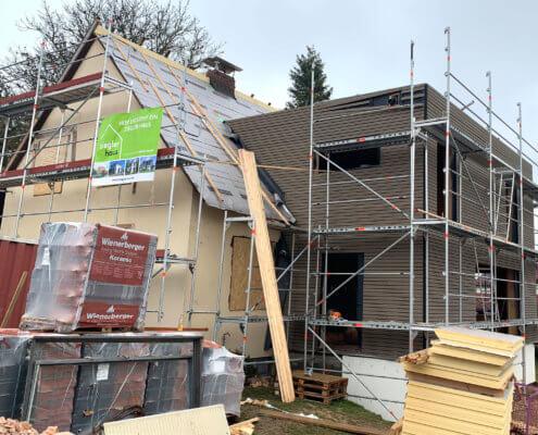 Anbau an ein bestehendes Einfamilienhaus in Tirschenreuth