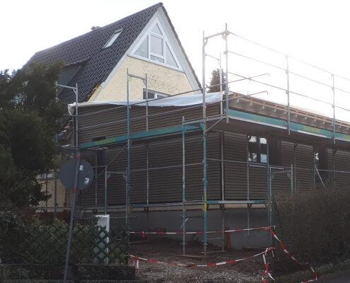Anbau an ein bestehendes Einfamilienhaus in Langenzenn
