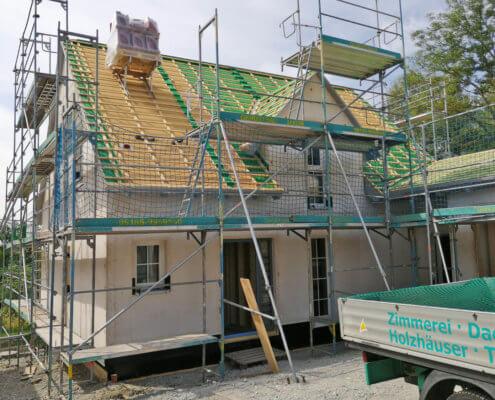Einfamilienhaus mit Doppelgarage in Insingen