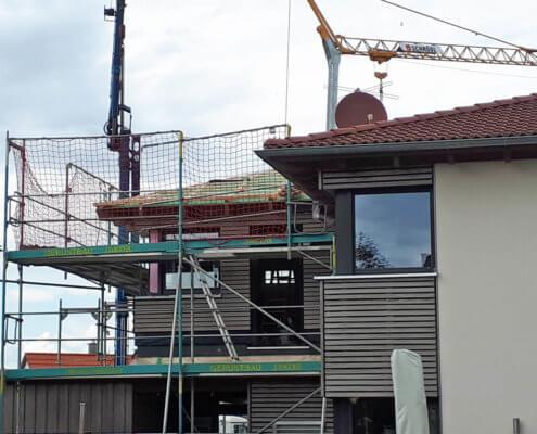 Anbau an ein bestehendes Einfamilienhaus in Ipsheim