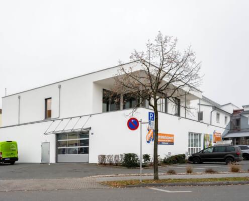 Aufstockung auf ein bestehendes Geschäftshaus in Weiden