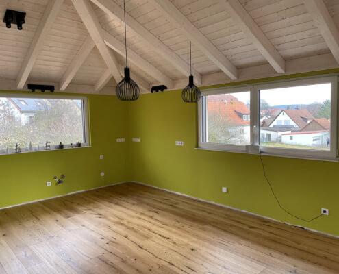 Aufstockung auf ein bestehendes Wohnhaus in Trautskirchen